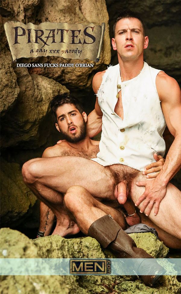 Pirates: A Gay XXX Parody (Diego Sans Fucks Paddy O'Brian) (Part 4) at Men.com