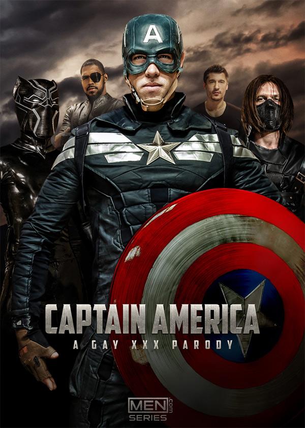 Captain America: A Gay XXX Parody (Jay Roberts & Alex Mecum Flip-Fuck) (Part 1) at Men.com at Men.com