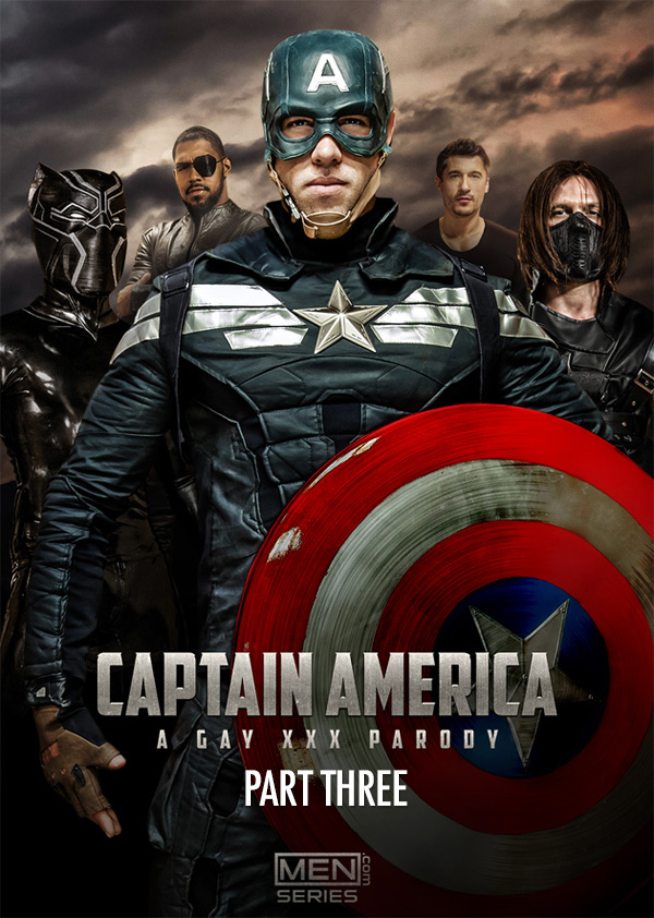 Captain America: A Gay XXX Parody (Paddy O'Brian Fucks Alex Mecum) (Part 3) at Men.com at Men.com