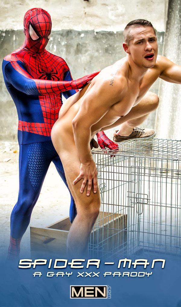 Spiderman: A Gay XXX Parody (Will Braun Fucks Aston Springs) (Part 2) at Men.com