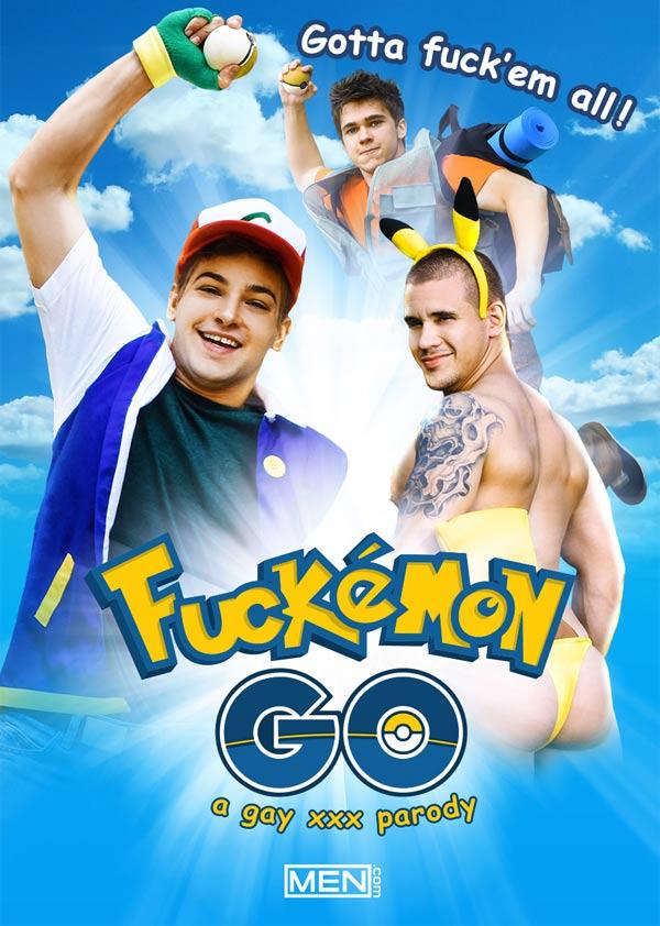 Fuckemon Go A Gay Parody