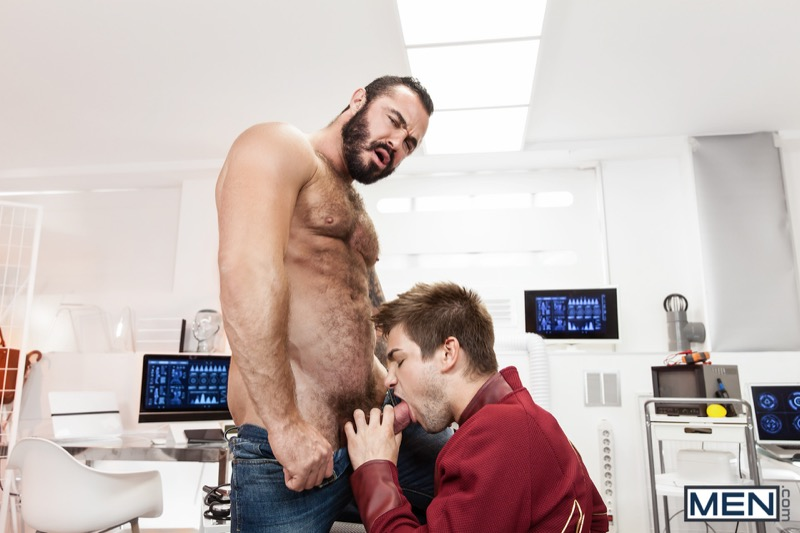 The Flash: A Gay XXX Parody (Jessy Ares Fucks Johnny Rapid) (Part 3) at Men.com