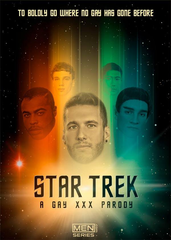 Star Trek: A Gay XXX Parody Trailer (Brendan Patrick, Donny Forza, Jack Hunter, Jordan Boss & Rod Peterson) at Men.com