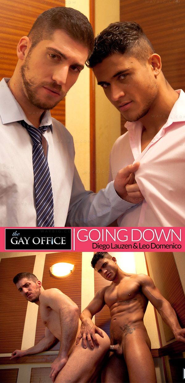 Going Down (Diego Lauzen & Leo Domenico) (Part 1) at The Gay Office