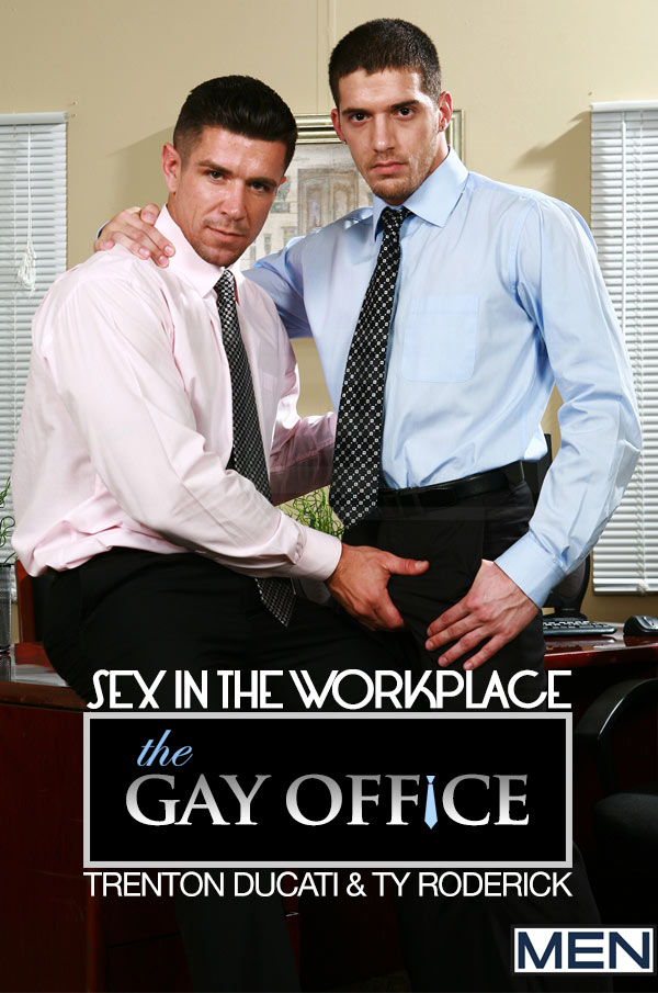 Sex In The Workplace (Trenton Ducati & Ty Roderick) at The Gay Office