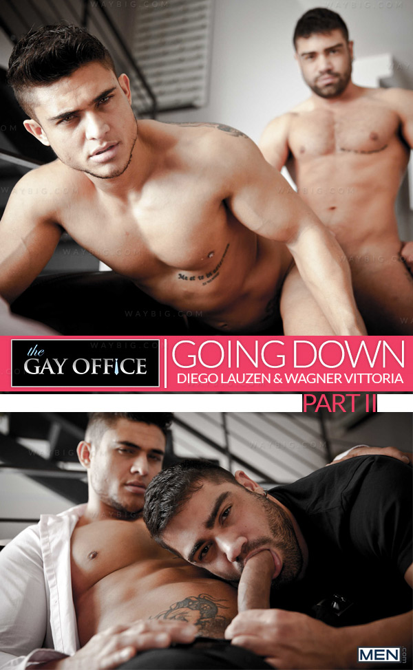 Going Down (Diego Lauzen & Wagner Vittoria) (Part 2) at The Gay Office
