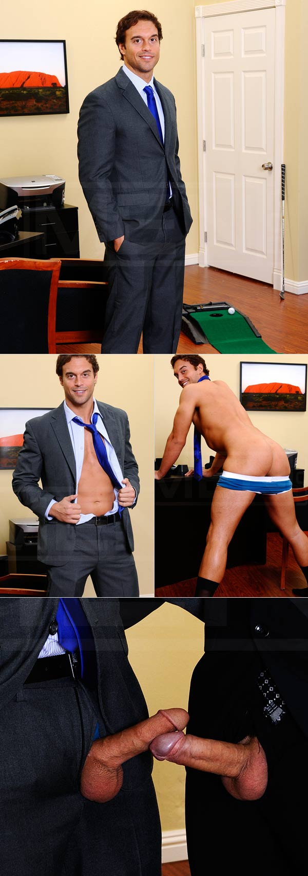 Entry Level (Rocco Reed & Lance Luciano) at The Gay Office