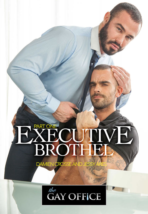 Executive Brothel (Damien Crosse & Jessy Ares) (Part 1) at The Gay Office