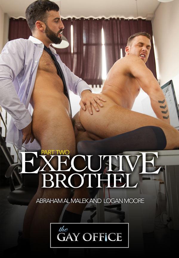 Executive Brothel (Abraham Al Malek & Logan Moore) (Part 2) at The Gay Office