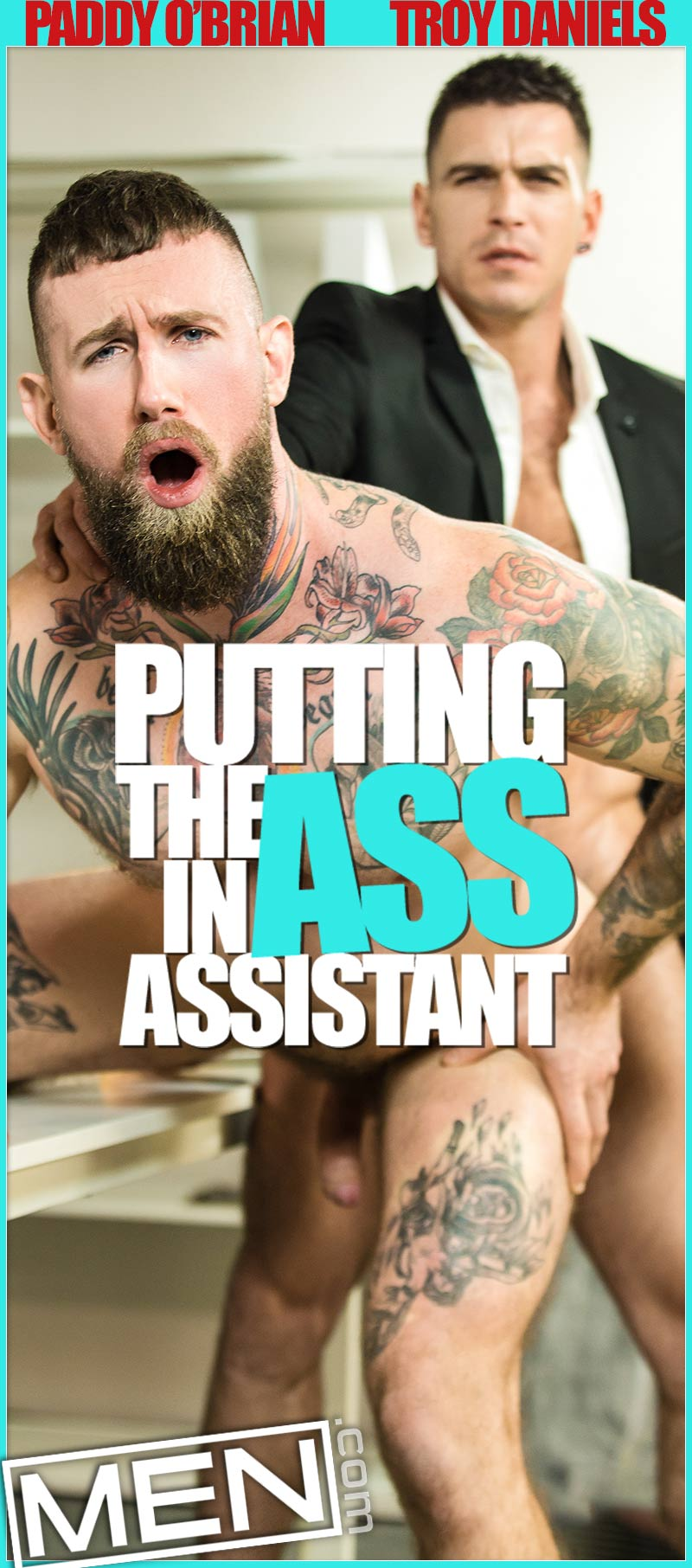 Putting the ASS in Assistant, Part Three (Paddy O'Brian Fucks Troy Daniels) at The Gay Office