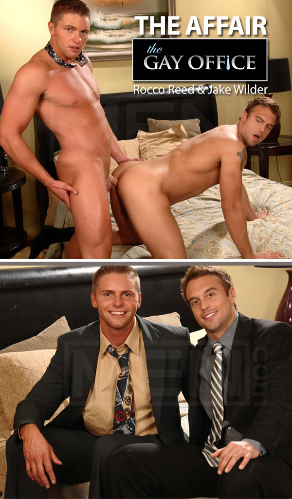 The Affair (Rocco Reed & Jake Wilder) at The Gay Office