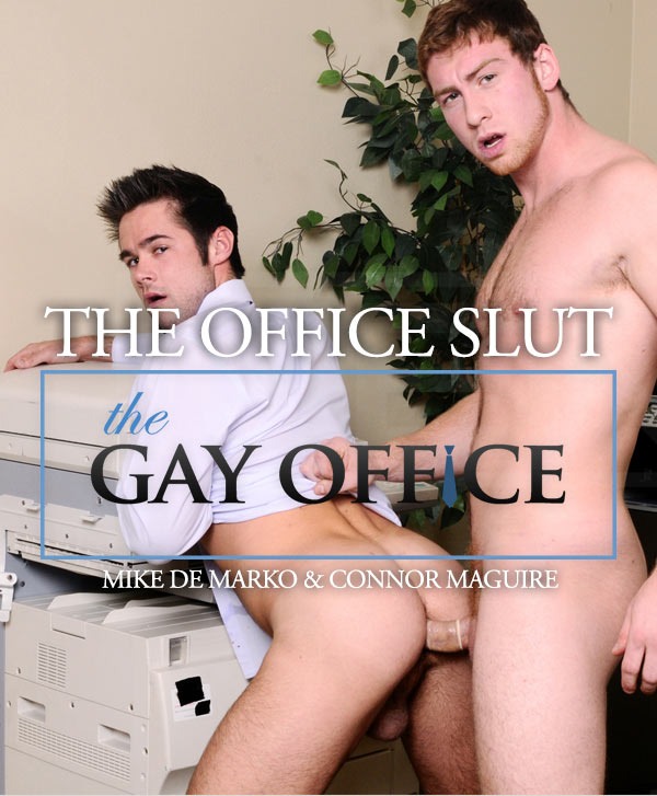The Office Slut (Mike De Marko & Connor Maguire) (Part 3) at The Gay Office