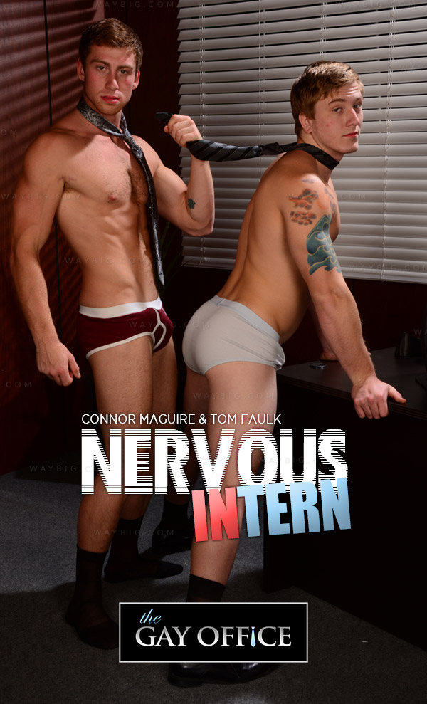 Nervous Intern (Connor Maguire & Tom Faulk) at The Gay Office