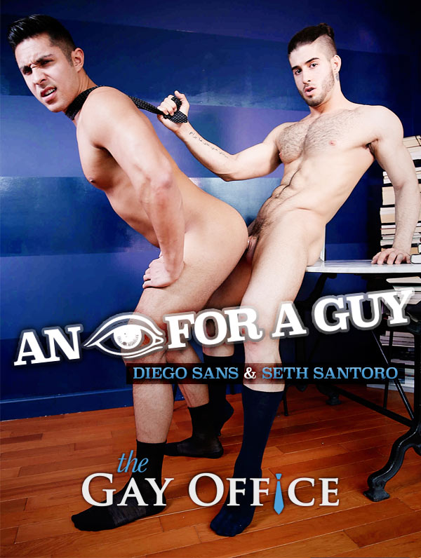 An Eye For A Guy (Diego Sans & Seth Santoro) at The Gay Office