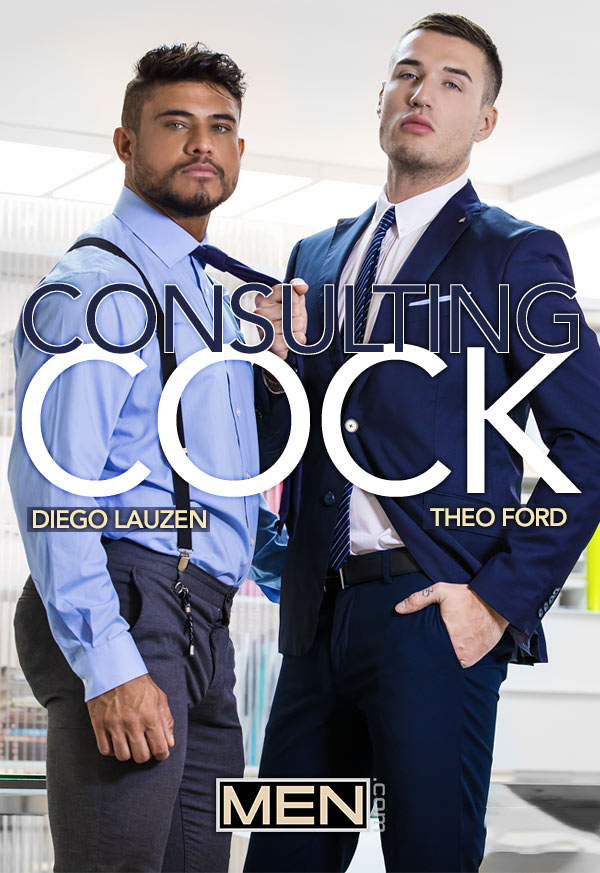 Consulting Cock (Diego Lauzen and Theo Ford Flip-Fuck) (Part 1) at The Gay Office