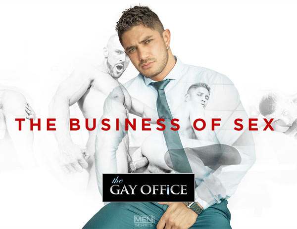 The Business Of Sex (Damien Crosse & Juan Lopez) (Part 4) at The Gay Office