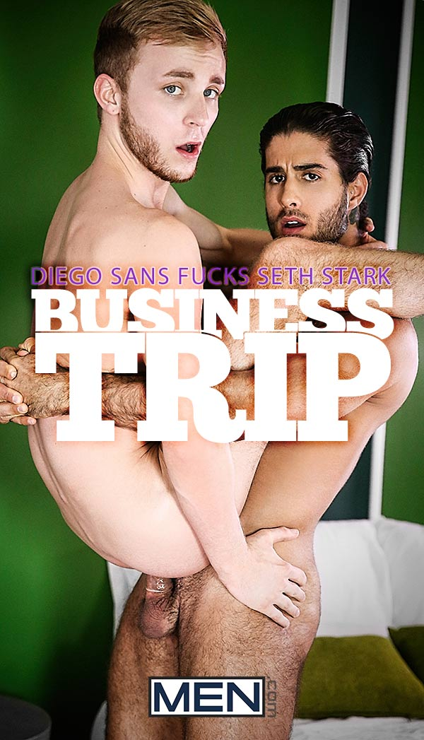 Business Trip (Diego Sans Fucks Seth Stark) at The Gay Office