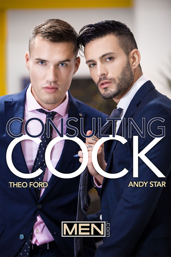 Consulting Cock (Theo Ford Fucks Andy Star) (Part 3) at The Gay Office