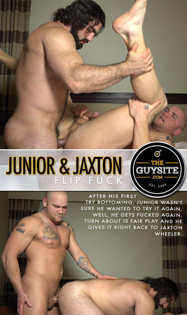 Jaxton Wheeler & Junior (Flip-Fuck) at The Guy Site