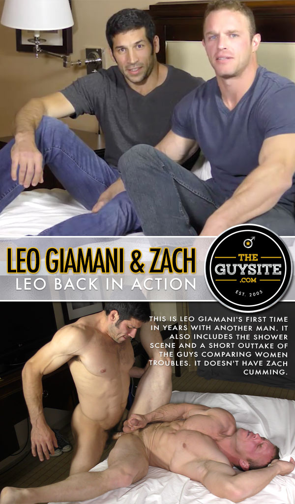 Leo Giamani Back In Action (Leo Giamani Fucks Zach) at The Guy Site