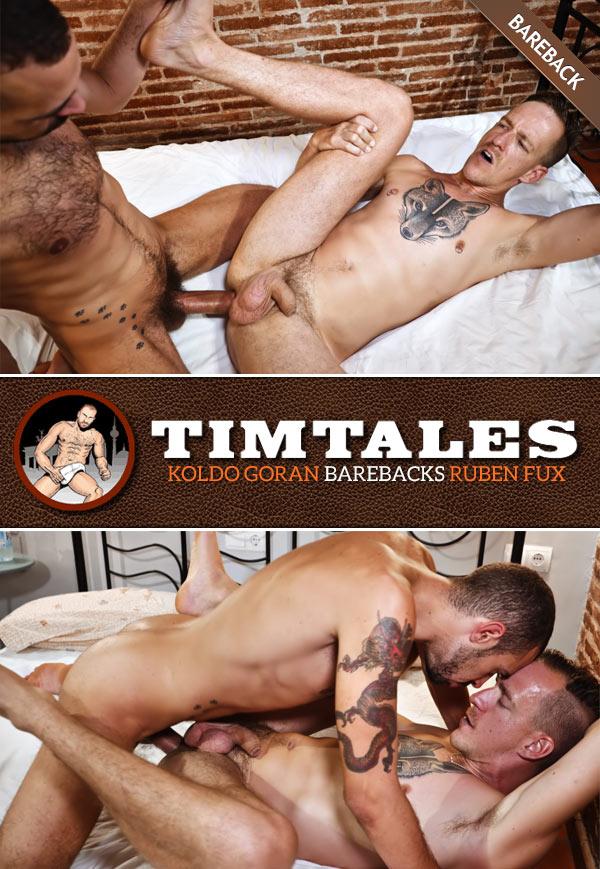 Koldo Goran Barebacks Ruben Fux at TimTales