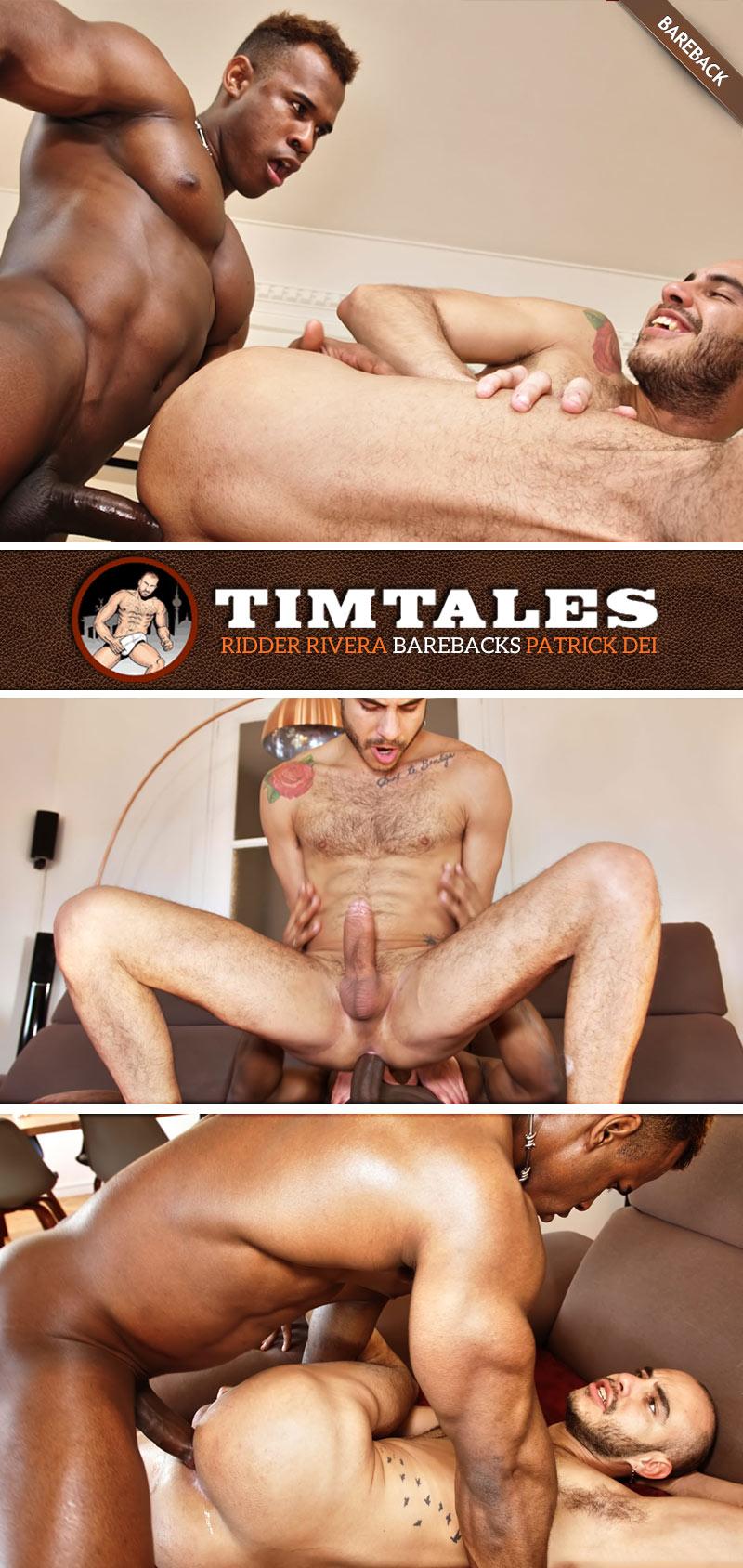 Ridder Rivera Barebacks Patrick Dei at TimTales