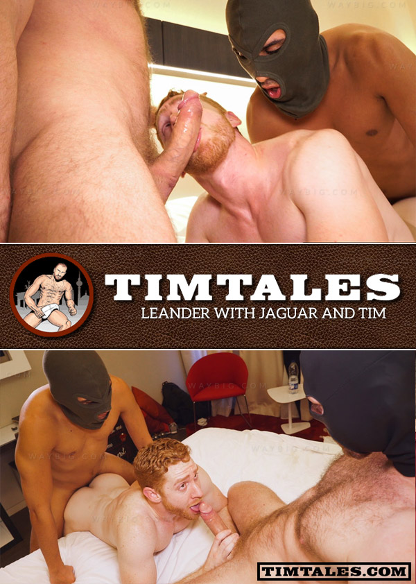 Leander with Jaguar and Tim at TimTales