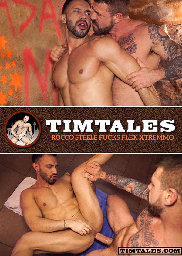 Rocco Steele Fucks Flex Xtremmo at TimTales