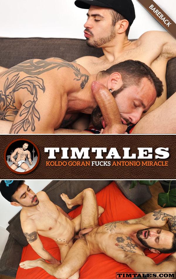 Koldo Goran Fucks Antonio Miracle (Bareback) at TimTales