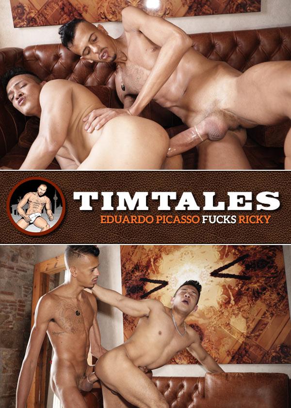 Eduardo Picasso Fucks Ricky Ibanez at TimTales