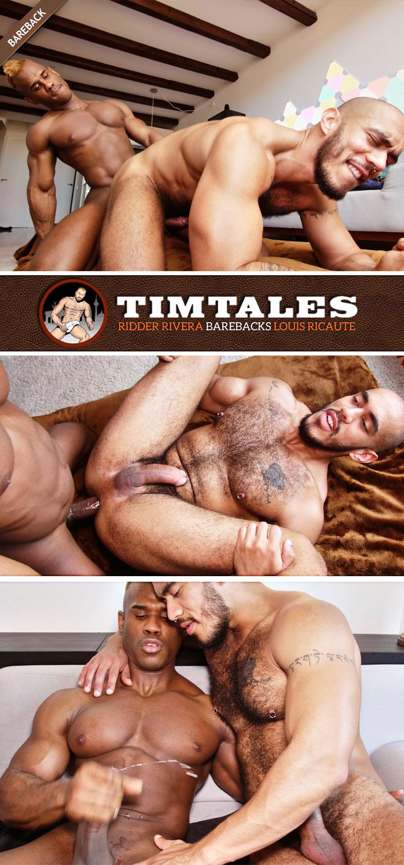 Ridder Rivera Barebacks Louis Ricaute at TimTales