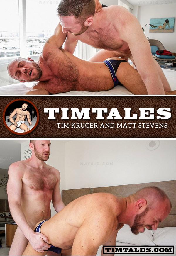 Tim Kruger and Matt Stevens at TimTales
