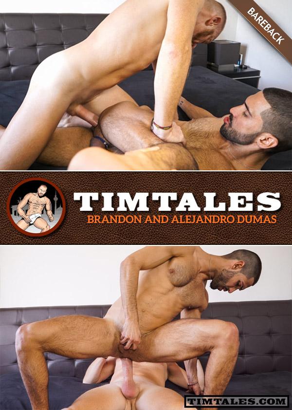 Brandon & Alejandro Dumas (Bareback) at TimTales