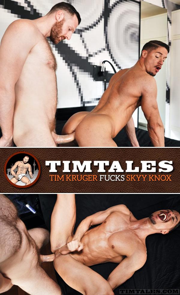 Tim Kruger Fucks Skyy Knox at TimTales