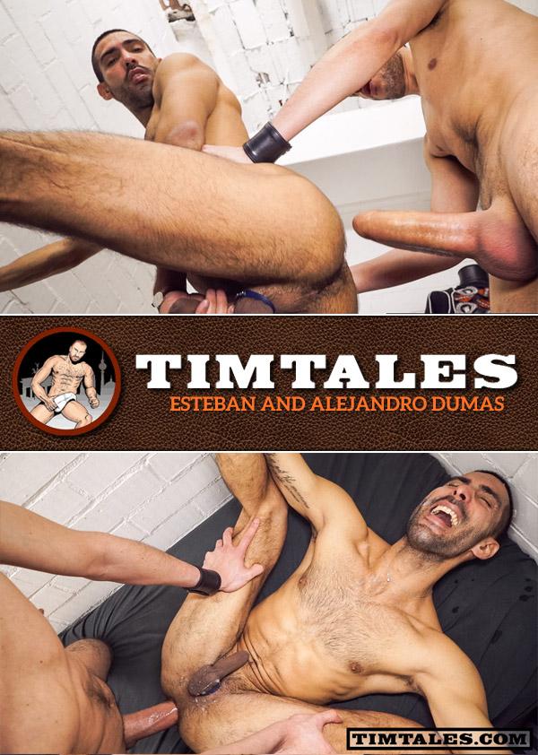 Esteban Fucks Alejandro Dumas at TimTales