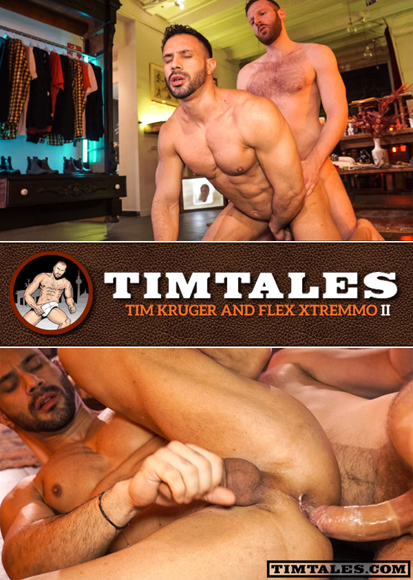 Tim Kruger Fucks Flex Xtremmo (II) at TimTales