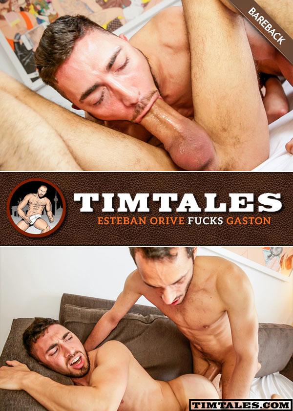 Esteban Orive Fucks Gaston (Bareback) at TimTales
