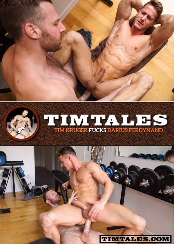 Tim Kruger Fucks Darius Ferdynand at TimTales