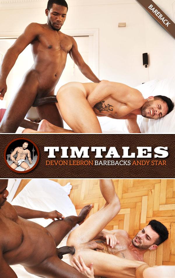 Devon Lebron Barebacks Andy Star at TimTales