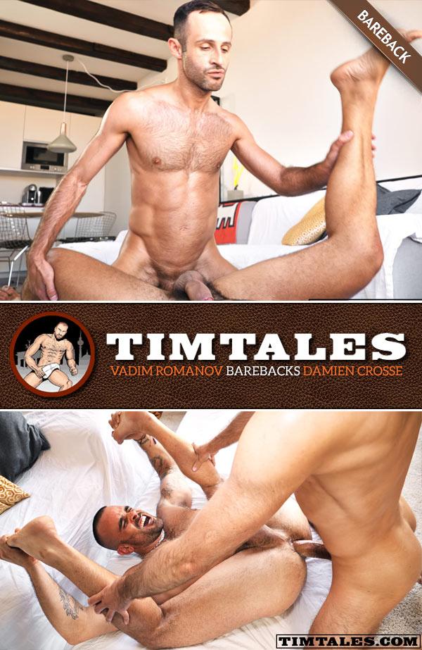 Vadim Romanov Barebacks Damien Crosse at TimTales