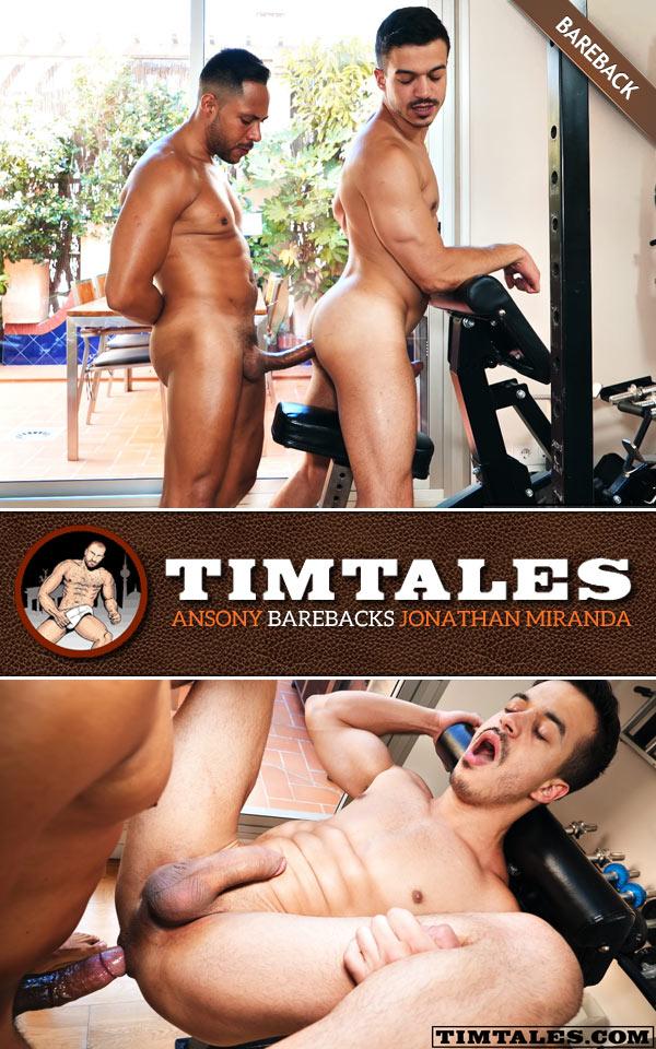 Ansony Barebacks Jonathan Miranda at TimTales