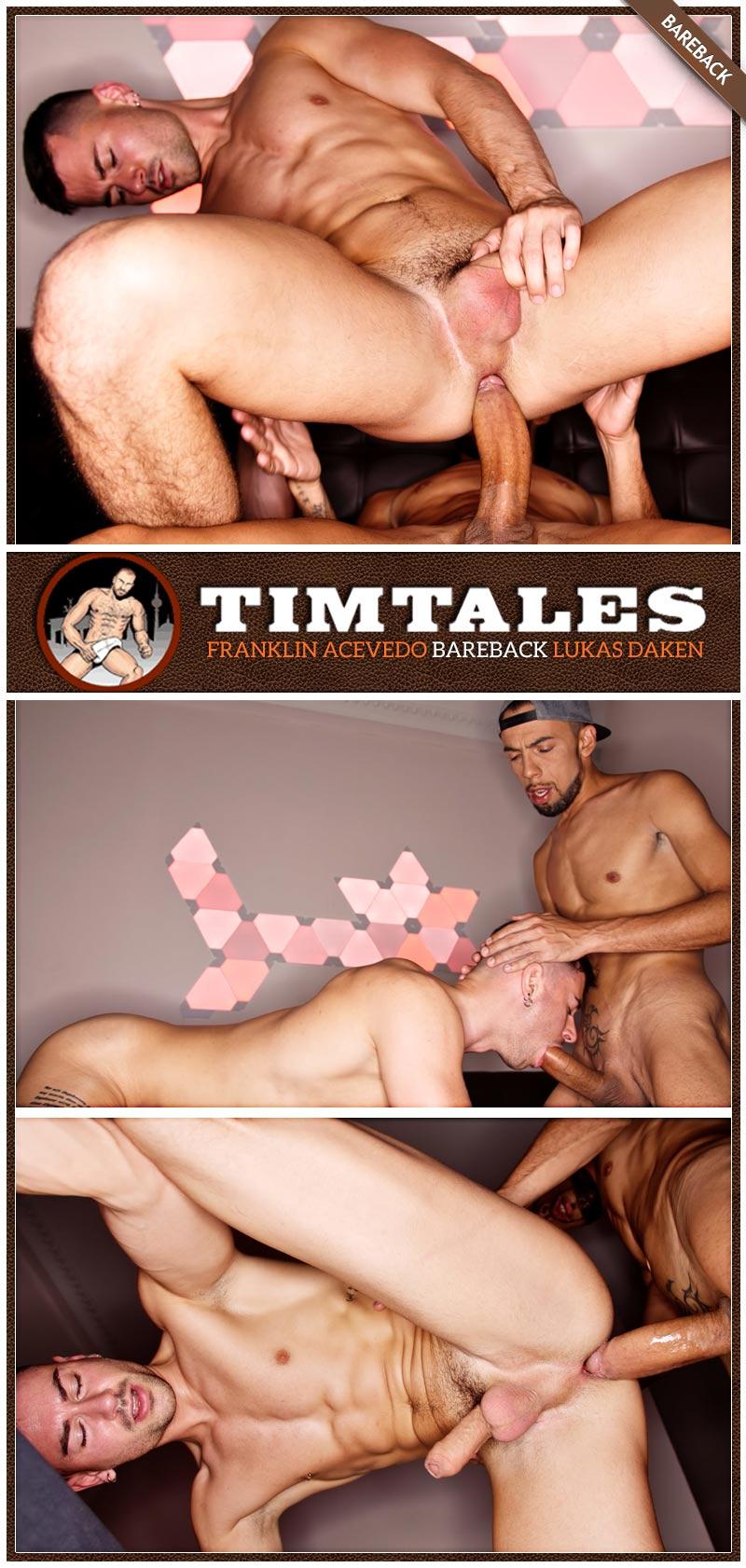 Franklin Acevedo Fucks Lukas Daken (Bareback) at TimTales