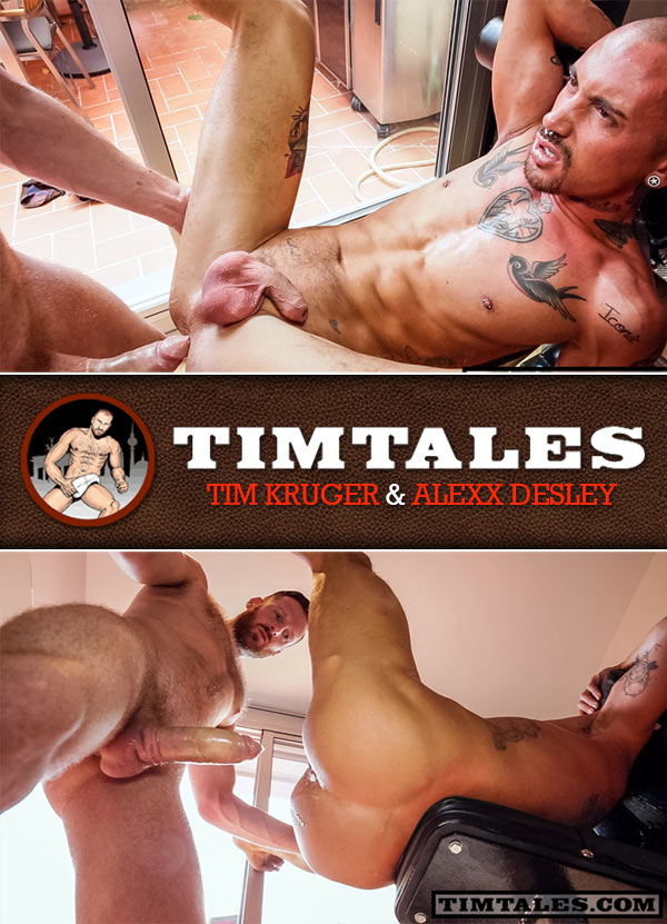 Tim Kruger & Alexx Desley at TimTales