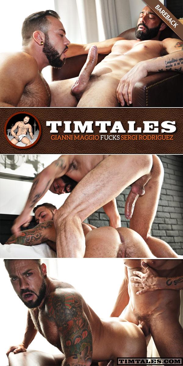 Gianni Maggio Fucks Sergi Rodriguez (Bareback) at TimTales