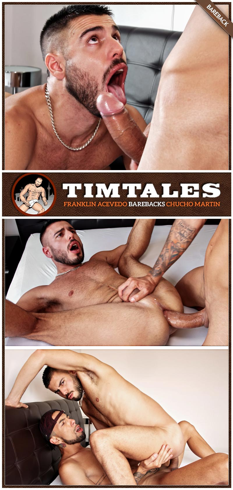 Franklin Acevedo Fucks Chucho Martin (Bareback) at TimTales