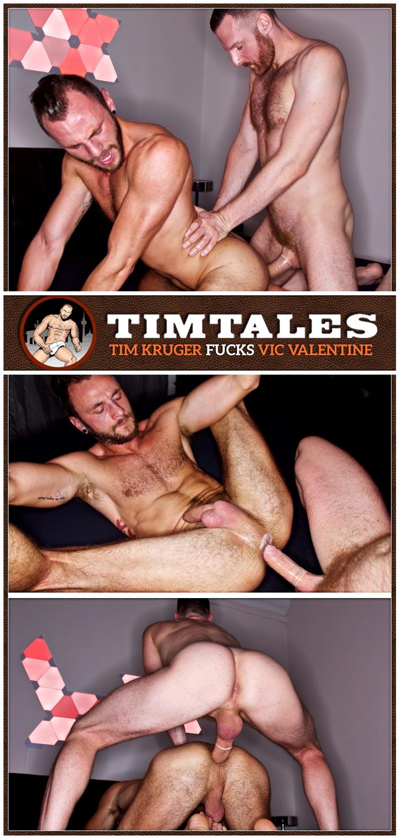 Tim Kruger Fucks Vic Valentine at TimTales