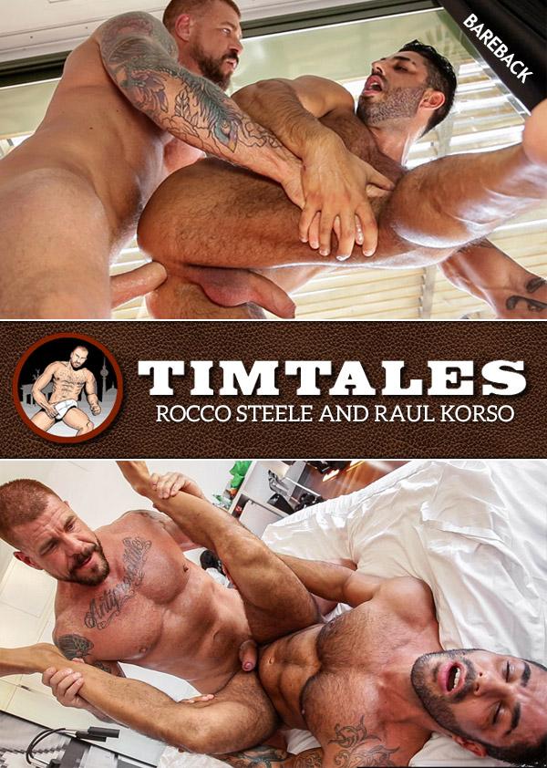 Rocco Steele & Raul Korso (Bareback) at TimTales