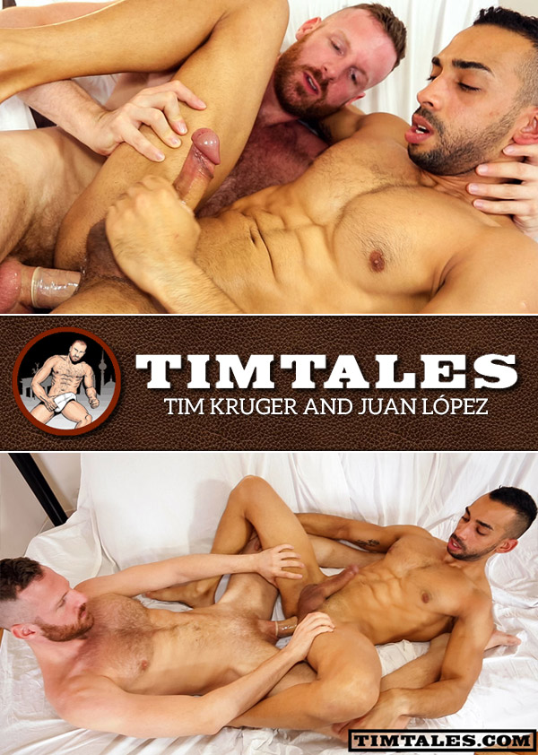 Tim Kruger and Juan López at TimTales