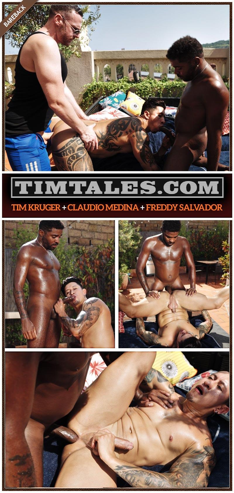 Claudio Medina an Tim Kruger fucks Freddy Salvador Cover