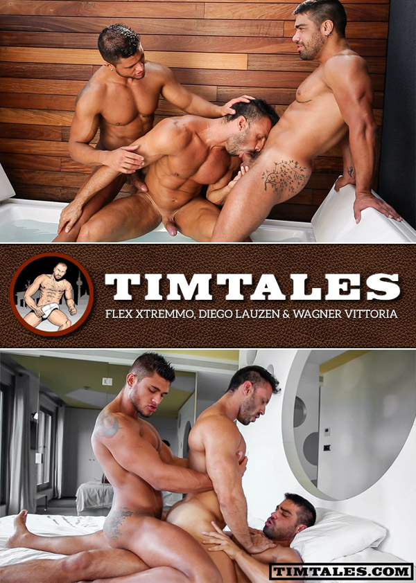 Flex Xtremmo, Diego Lauzen and Wagner Vittoria at TimTales